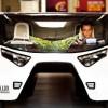 Автомобиль на солнечных батареях для семейных поездок