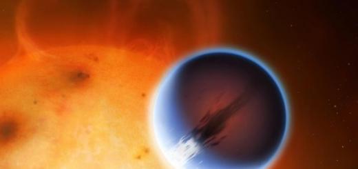 Ветра, дующие со скоростью 8600 км/ч, обнаружены на экзопланете