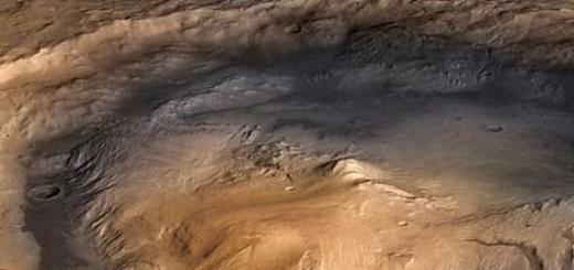 НАСА: озера на Марсе существовали миллионы лет