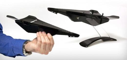 Представлен дрон из углеродного волокна