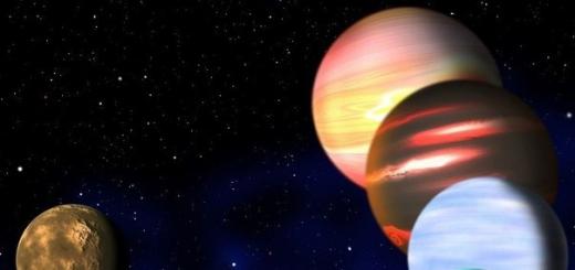 Парад планет и другие астрономические события января