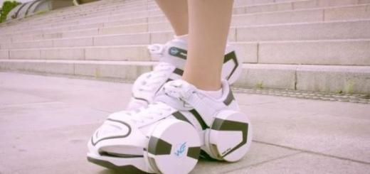 Созданы кроссовки-ролики для любых дорог