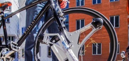 Колесо GeoOrbital превращает обычный велосипед в электрический