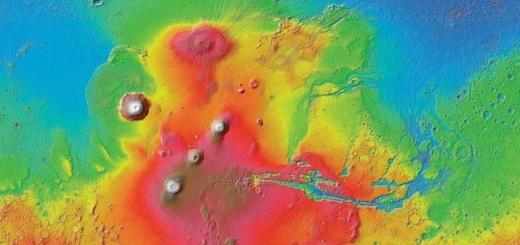 Древний вулканический катаклизм сдвинул полюса Марса
