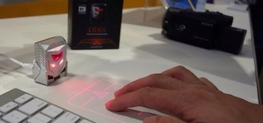 Serafim ODIN — первый в мире проекционный трекпад