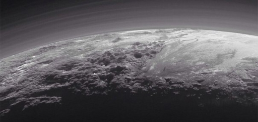 Горы Плутона оказались ледяными вулканами