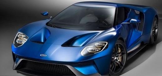 Суперкар Ford GT оснастили стеклом Gorilla Glass