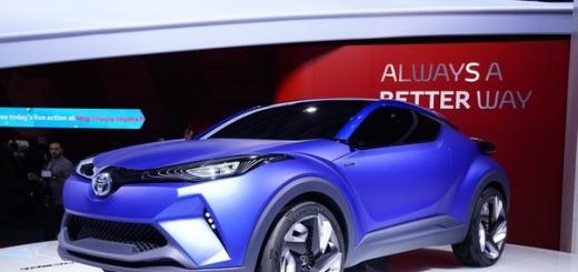 Toyota покажет миру свой Qashqai в cледующем году