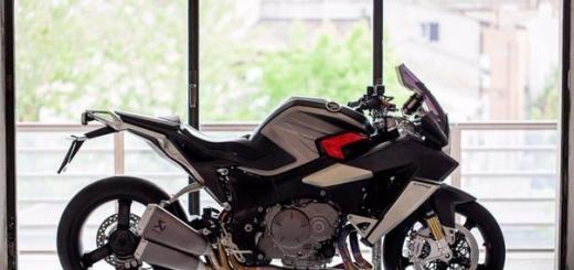 Burasca 1200 — тюнингованный мотоцикл Honda VFR1200F от Альдо Друди
