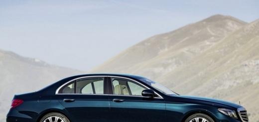 Новый Mercedes-Benz E-Class почти дотянулся до S-Класса