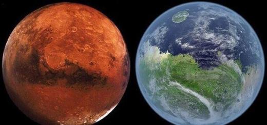 Всего миллион лет назад на Марсе текли потоки воды