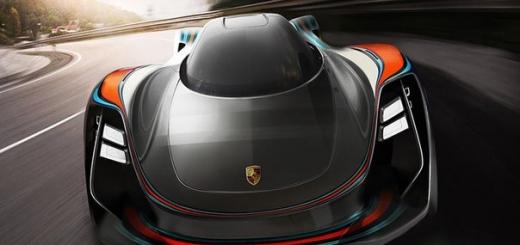 Представлен удивительный концепт будущего Porsche 911.