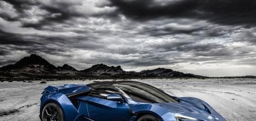 Суперкар W Motors Fenyr SuperSport выйдет в количестве 25 штук