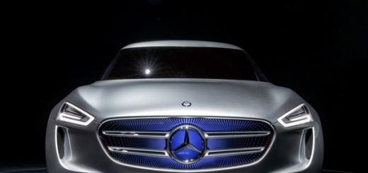 Водородный кроссовер Mercedes покажут в следующем году