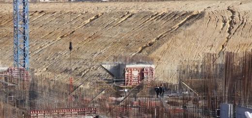 Монолитные конструкции возвели на стартовом комплексе Союза-2