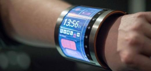«Умные» часы с 4.7-дюймовым экраном от FlexEnable