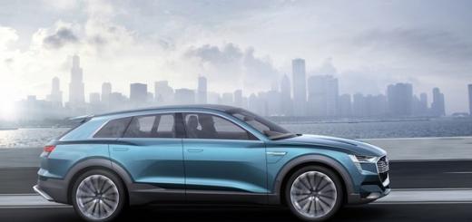 Audi может привезти в Детройт водородный кроссовер