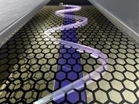 Ученые заставили электроны двигаться по заданному пути на поверхности графена