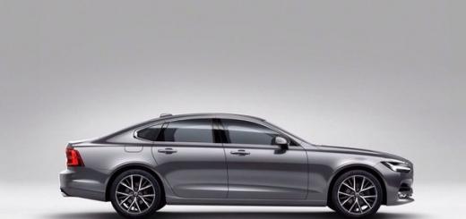 Volvo представляет новый седан S90 в Детройте