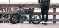 Электробайк в ретро-стиле 70-х