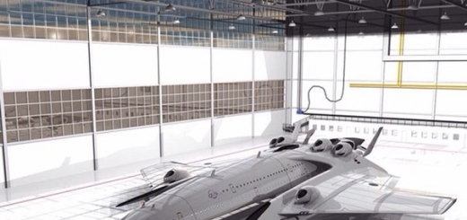 Самолет с термоядерными двигателями