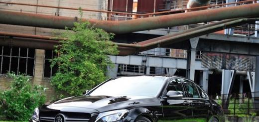 Brabus Mercedes C 63S развивает скорость до 300 км/ч