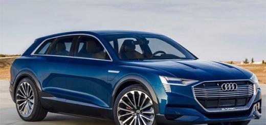 Audi наладит выпуск электрических кроссоверов в 2018 году