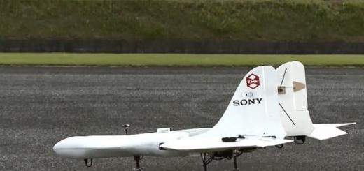 Микросамолет от Sony приспособят для доставки