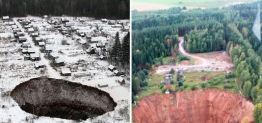 Провал, который образовался из-за аварии на подтопленном руднике около Соликамска, сразу привлек внимание публики. Теперь же он стал намного больше.