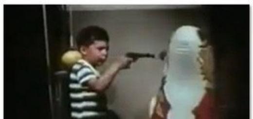 В начале 60-х годов психолог Альберт Бандура решил выяснить, склонны ли дети имитировать агрессивное поведение взрослых. Он взял огромную надувную куклу-клоуна, которую назвал Бобо, и снял фильм, как взрослая тётя его ругает, лупит, пинает и даже бьёт молотком. Потом он показал это видео группе из 2