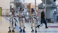 Экипажи новой экспедиции на МКС провели тренировки на Байконуре