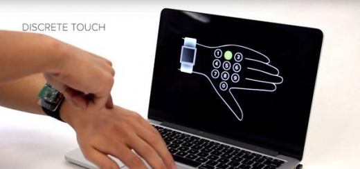 Новая технология превращает кожу руки в тачскрин