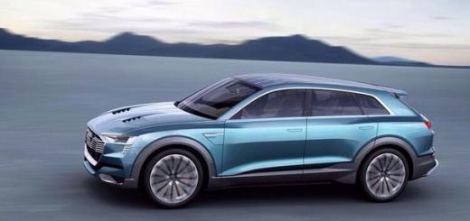 CES 2016: электрический концепт-кроссовер Audi E-Tron Quattro