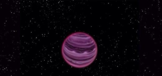 На одинокой планете, потерявшей свою звезду, бушуют бури из расплавленного металла