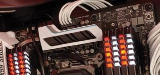 Модули памяти Corsair Vengeance LED DDR4 оснащены подсветкой