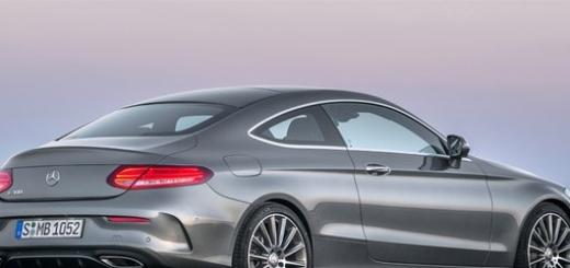 Новое купе Mercedes C-Class выйдет в декабре