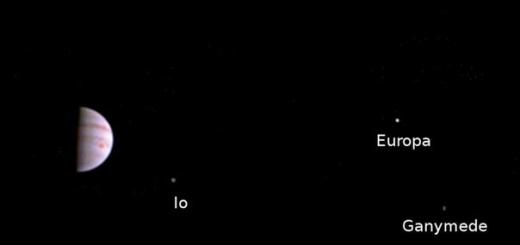 Получена первая фотография с орбиты Юпитера