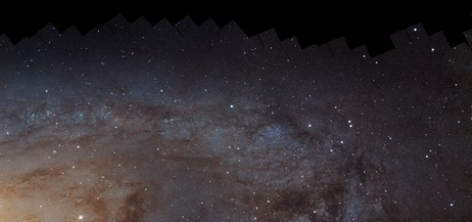 Астрономы подготовили крупнейшее изображение галактики Андромеды