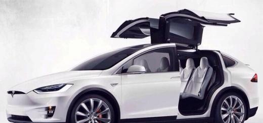 Tesla Model X: представлен электрический кроссовер
