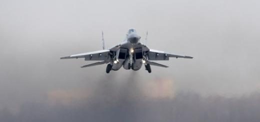 ВВС получили первые контрактные МиГ-29СМТ/УБМ