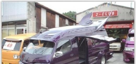 Необычный тюнинг японских автомобилей