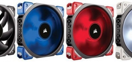 Корпусные вентиляторы Corsair ML Series основаны на подшипниках Magnetic Levitation Bearing
