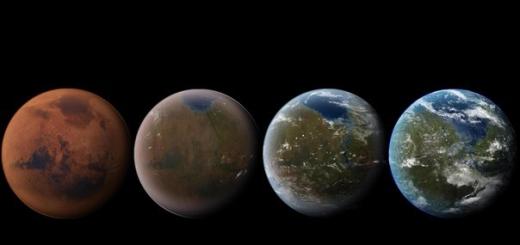 Вода на Марсе была 200 000 лет назад.