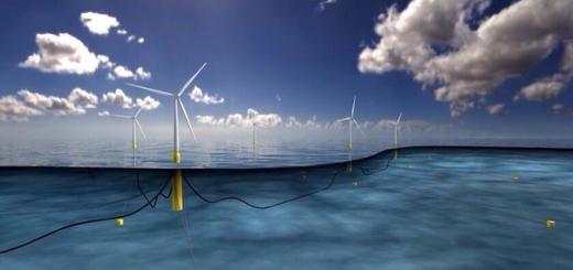 В Шотландии построят самую большую плавучую ветряную электростанцию