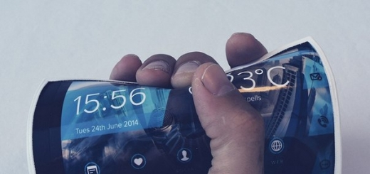 Samsung запатентовал сгибающийся смартфон