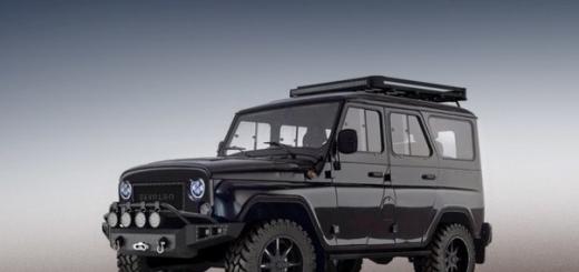 Американское тюнинг-ателье возьмётся за модернизацию внедорожников УАЗ