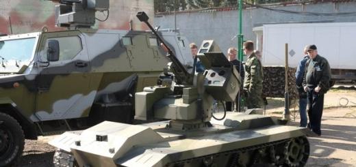 Российский боевой робот Нерехта сможет начать испытания в 2016 году