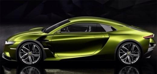 DS E-Tense: концепт-купе с электрической силовой установкой