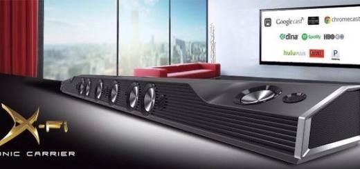 Creative X-Fi Sonic Carrier — внушительная акустическая система с 17 излучателями в одном корпусе