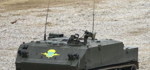 Из БТР сделали противотанкового робота